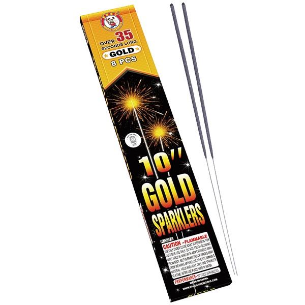 10 Inch Gold 699